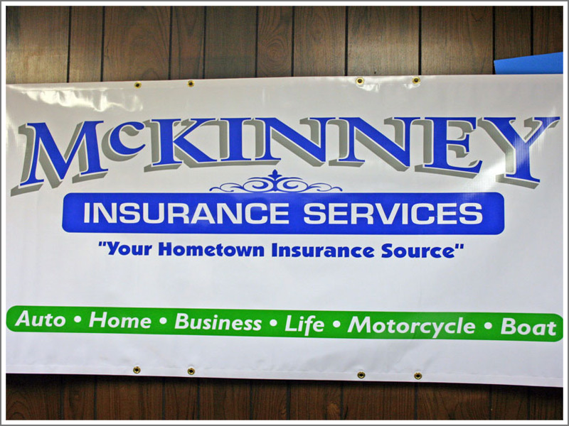 Solid And Printed Vinyl Banners Custom Signs Decals And