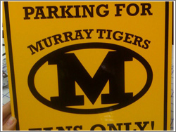 Murray Tigers Parking