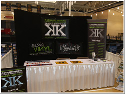 K-Squared Designs Trade Show Display