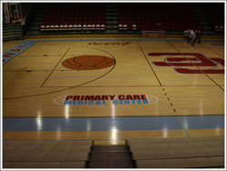 Primary Cared Medical Center Basketball Floor