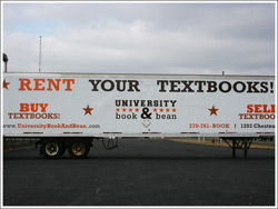 University Book and Bean Trailer