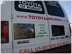 Toyota of Murray Van Wrap