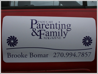 Paducah Parenting and Family Magnetic Sign